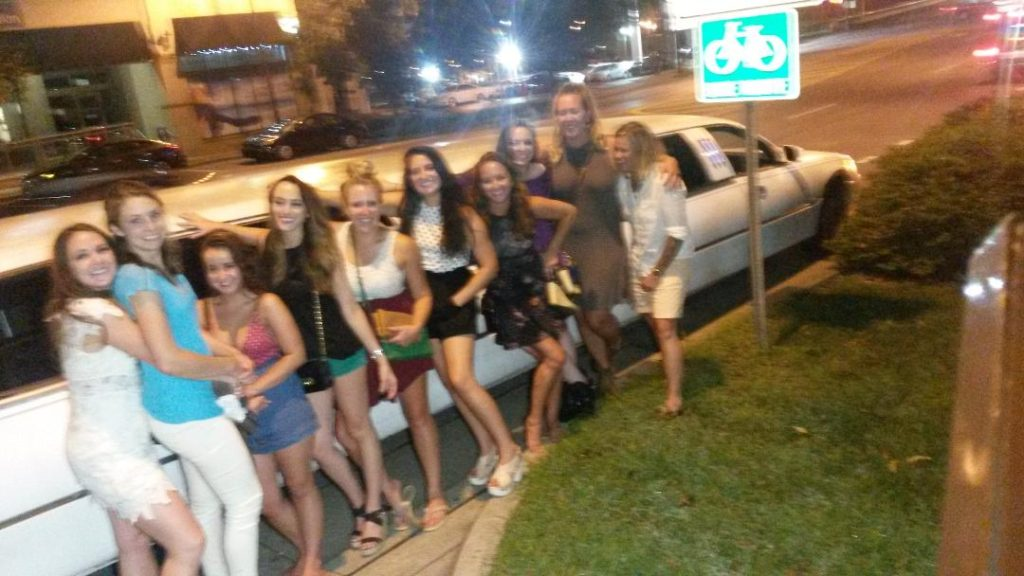 birthday party limo in the gulch Nashville Tennessee